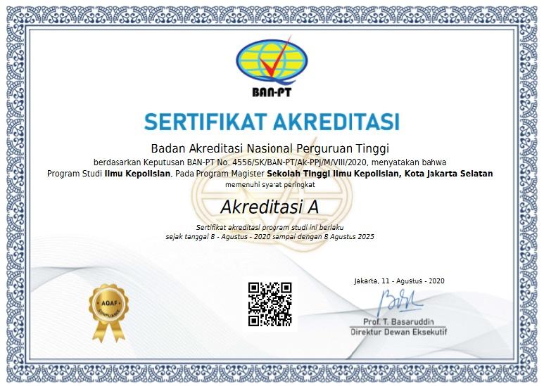 akreditas A stik ptik